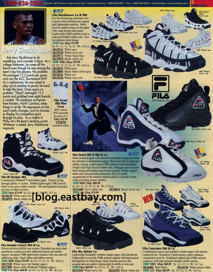 fila basketball shoes 90s