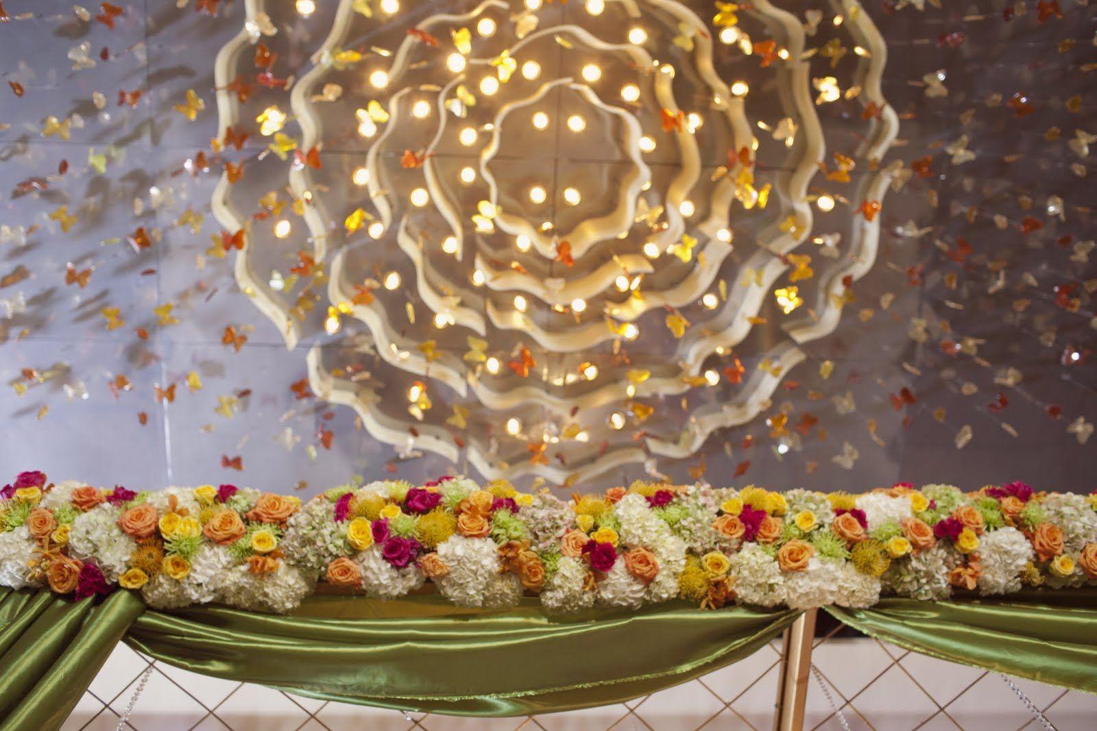 Impressive decoration of the insideceiling of the mandap wedding decor by lotus events decorator daxa patel company lotus events wedding design san francisco bay area ca usa junglespirit Images