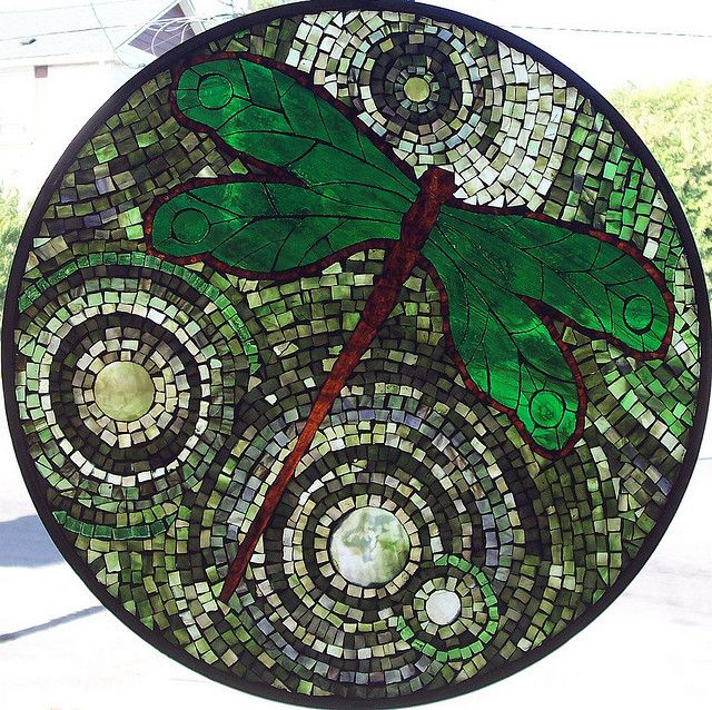 green dragonfly by Kathleen Coyle (Emerald Dragon)