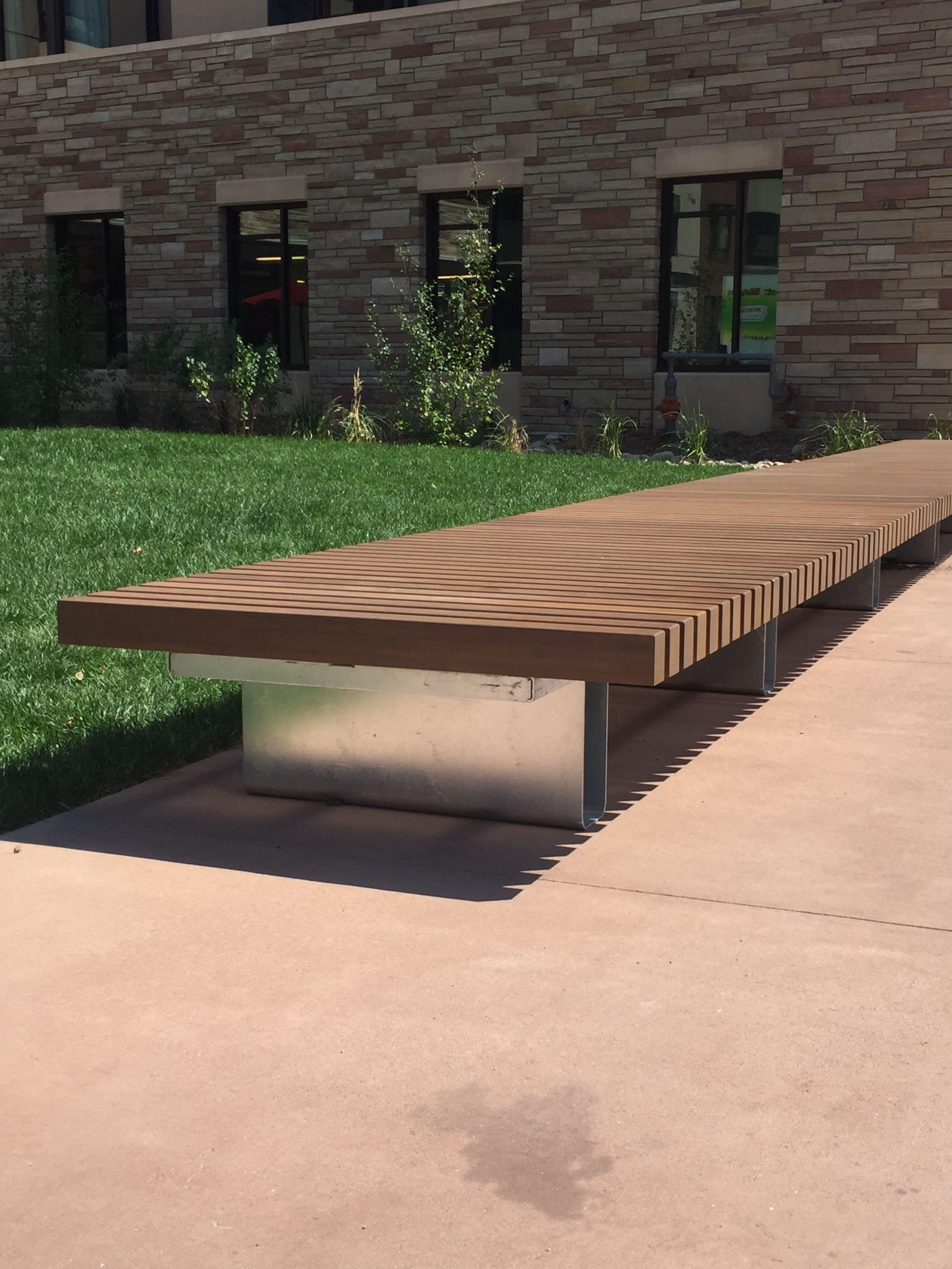 Superior Custom Benches Part - 13: Anova Custom Benches - Aggie Village @ Colorado State University