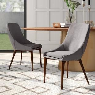 Aldina Upholstered Dining Chair Joss Main Dining Chair Upholstery Dining Chairs Upholstered Side Chair