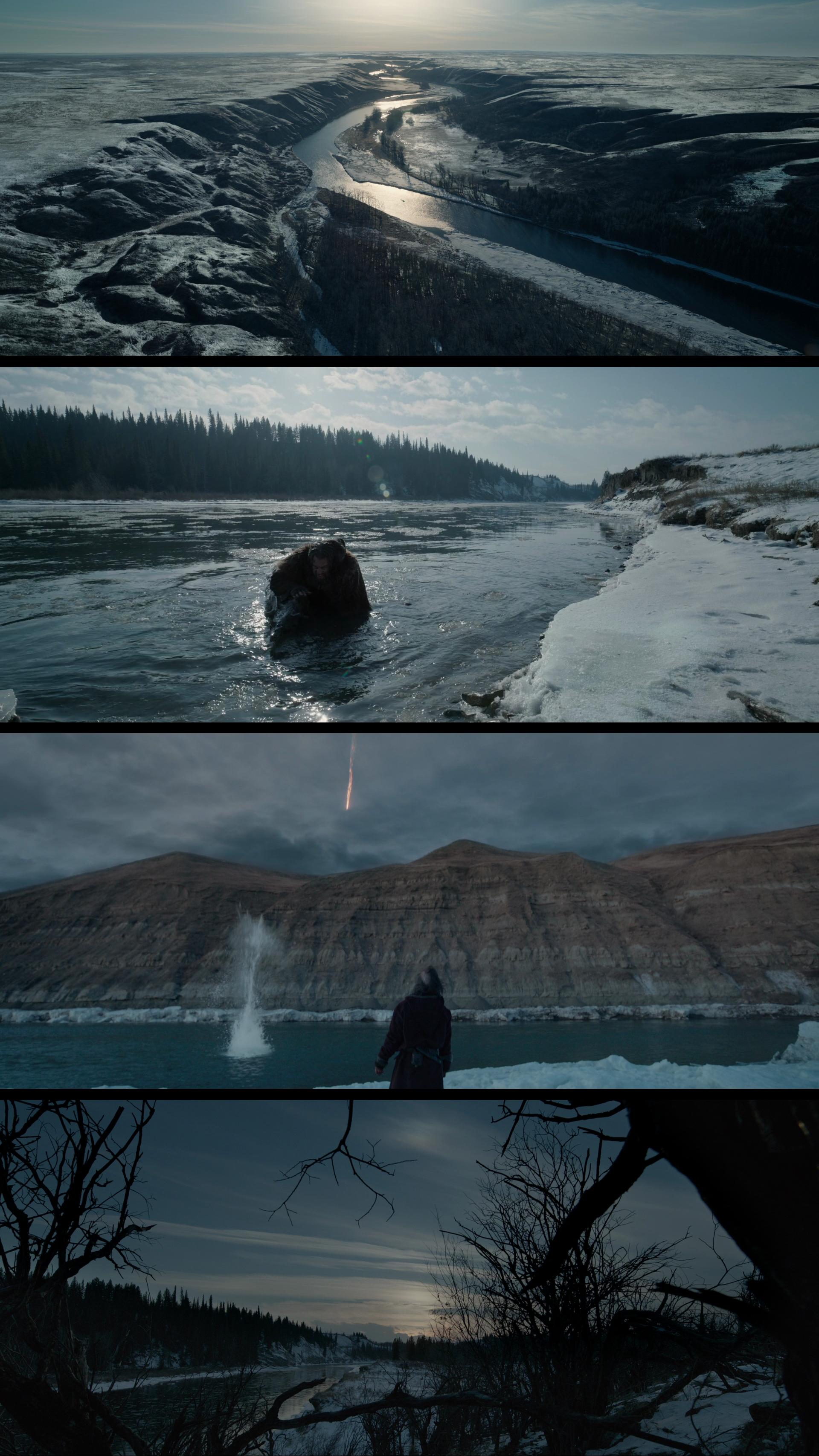 The Revenant by Alejandro Iñárritu - glorious landscapes (cinematographer Emmanuel Lubezki)