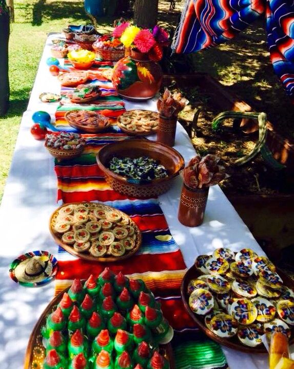 Candy Table Decoracion Fiesta Mexicana Mesa De Postres Mexicanos Fiestas De Cumpleanos Mexicanas