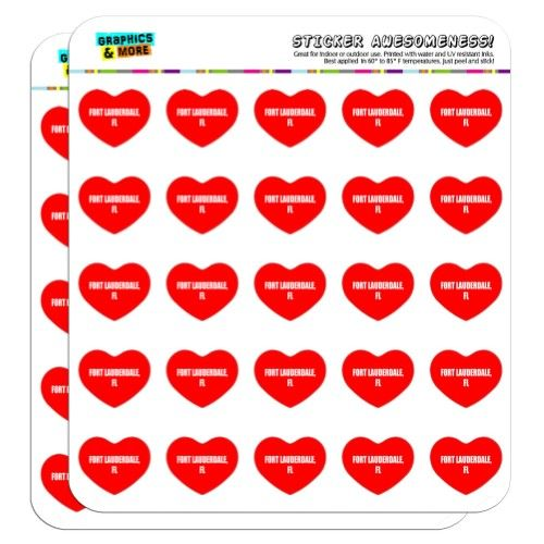 I Love Heart City State Fort Lauderdale Fl 1 Scrapbooking