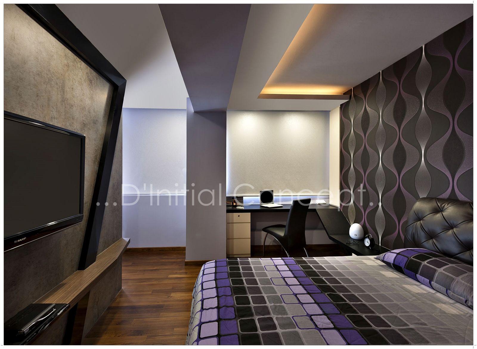 Master bedroom hdb  Du Initial Concept Interior Design Firm dinitialconcept on Pinterest