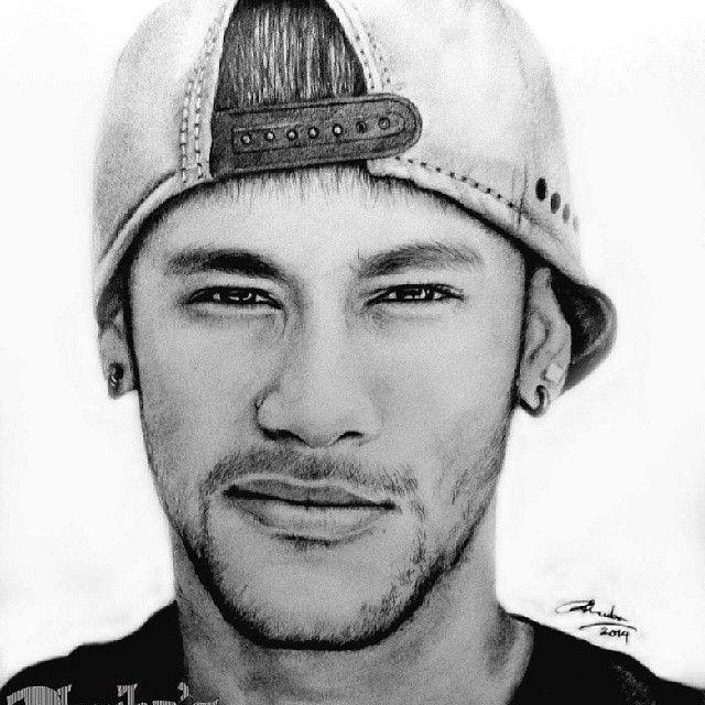 neymar neymarjr realportrait realistic sketch sketches art