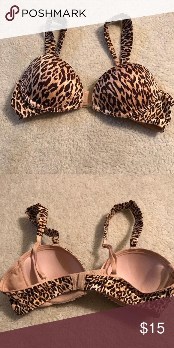 77917376d3 Pink Victoria Secret Cheetah Print Bra Pink Victoria Secret Cheetah Print Bra  PINK Victoria s Secret Intimates   Sleepwear Bras