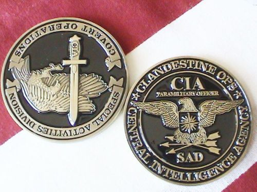 Central Intelligence Agency s A D Paramilitary Group Officer