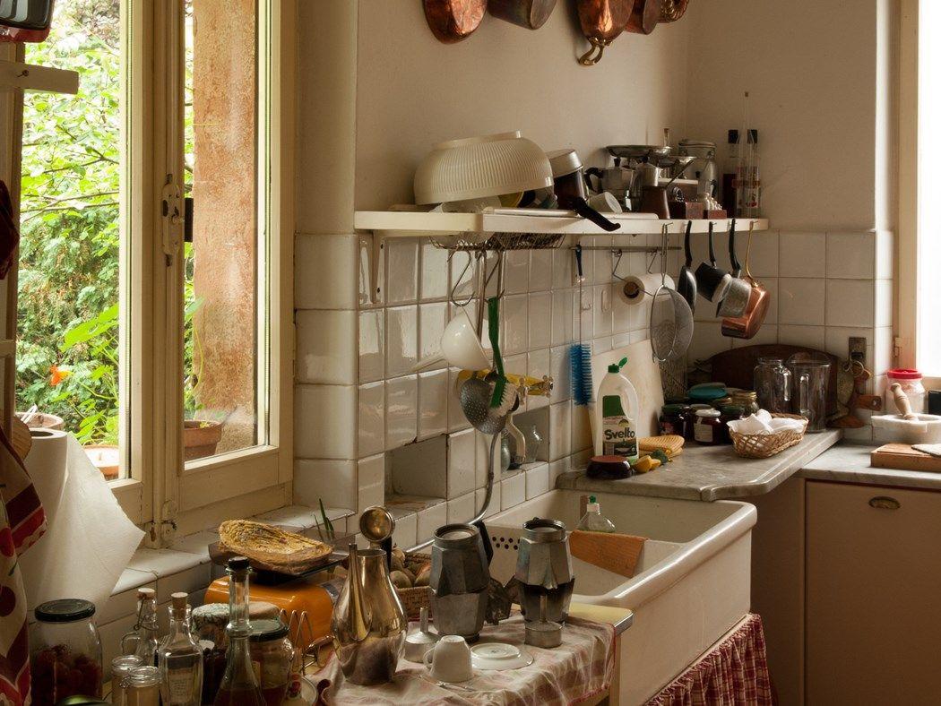 Villa Albergoni in Moscazzano, Italy DirectorLuca Guadagnino Production Designer Samuel Dehors Set Decorator Violante Visconte di Modro...