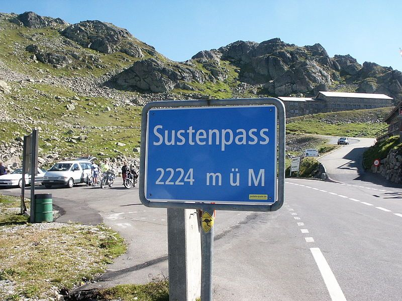 Susten Pass, Swiss Alps, Switzerland is part of what is commonly known as the Grimsel–Nufenen–Gotthard–Susten Pass Route and is located in the Central Alps. These four passes provide one of the most breathtaking sight seeing tours in the world