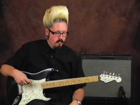Dunlop Univibe pedal demo chorus vibrato rotating Leslie speaker guitar ...