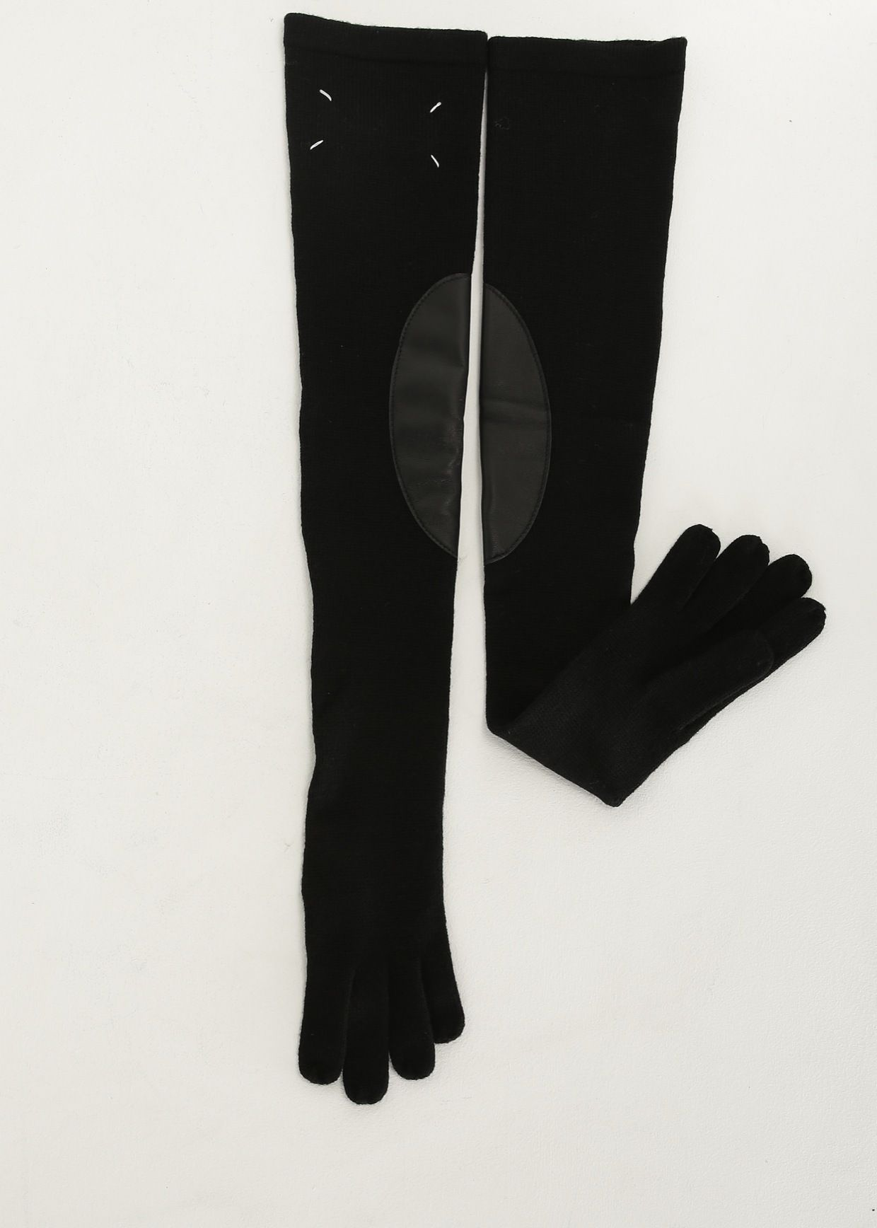 Maison margiela black long gloves stuffstuffstuff pinterest
