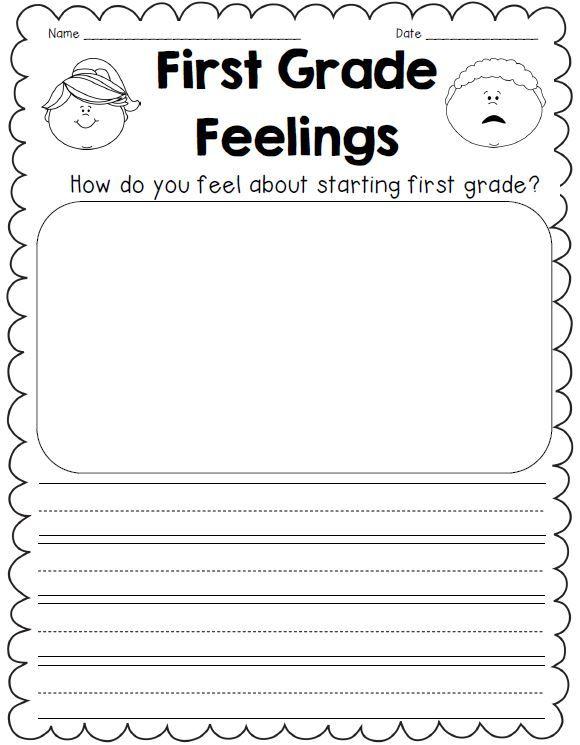 Hello, First Grade! Back To School Activities $ First Grade Writing, First  Grade Activities, First Grade