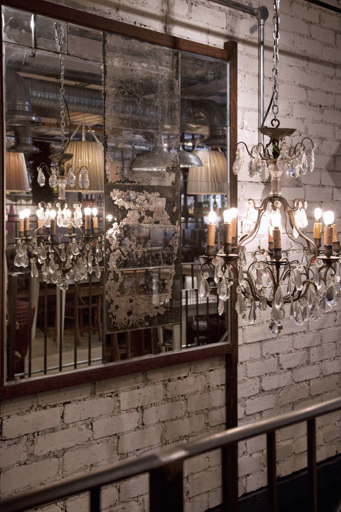 Chandeliers and mirrors winning combination antique chandeliers and mirrors winning combination antique restaurantinterior mozeypictures Gallery