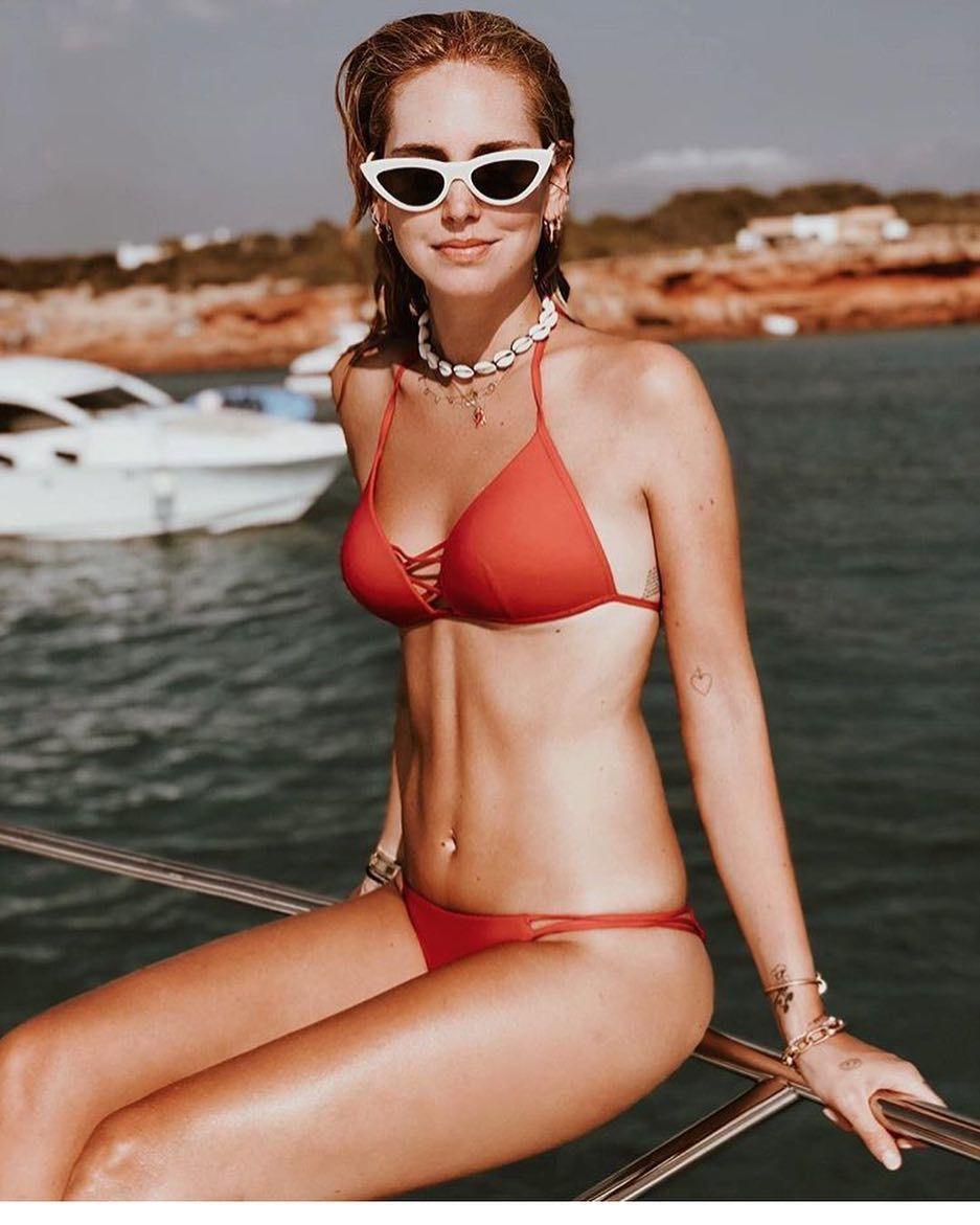 Voglia di mare e di relax in questo weekend di agosto  anche Chiara sceglie Cline
