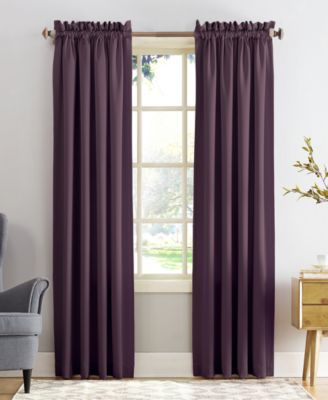 Sun Zero Grant Room Darkening Pole Top 54 X 84 Curtain Panel In 2019 Products Curtains Panel Curtains Rod