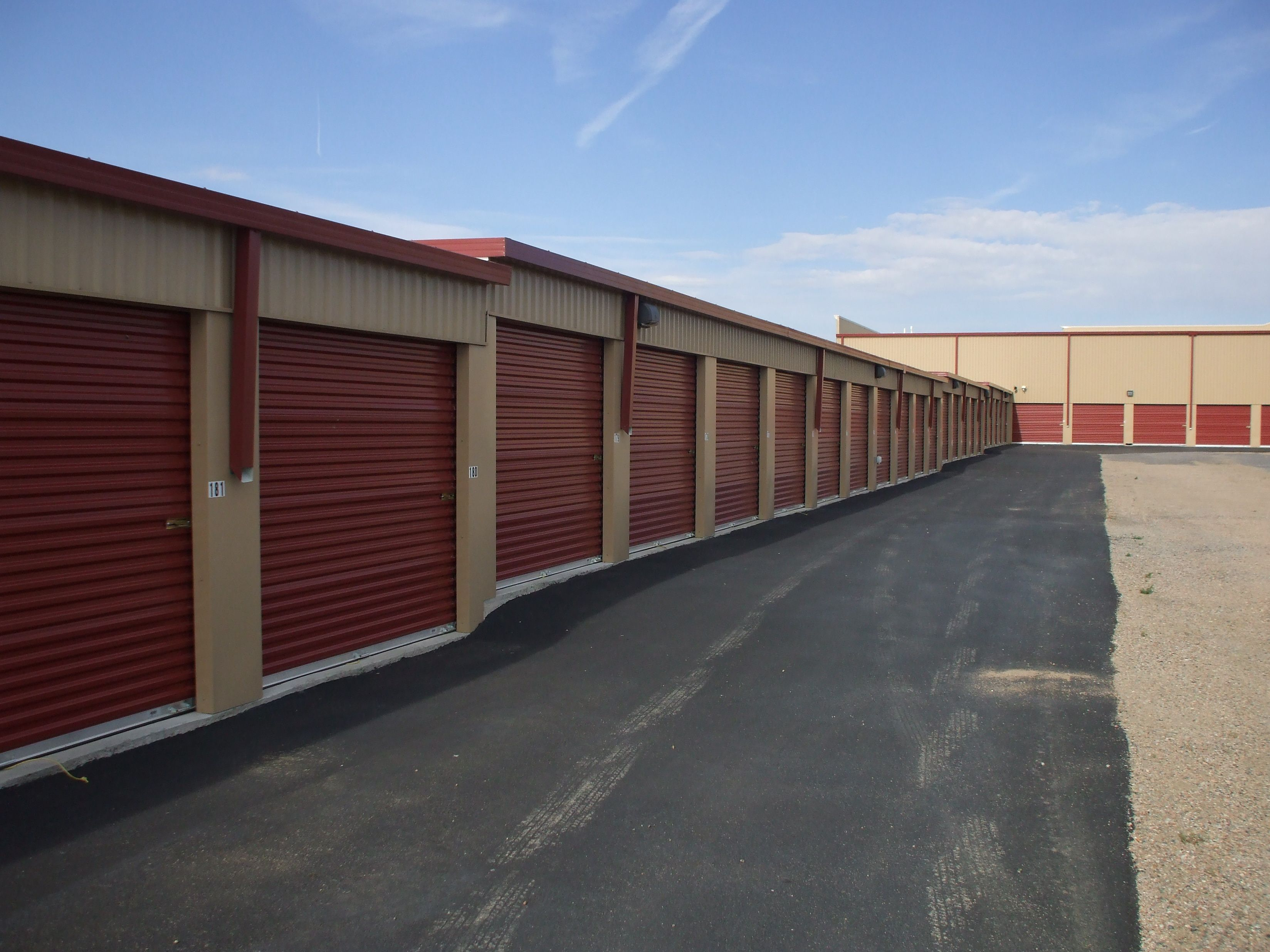 We offer indoor climate controlled units and exterior garage sized units!  www.StorageInPueblo.com