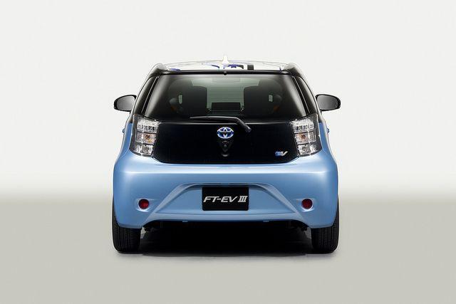 Toyota Ft Ev Iii Concept Toyota Concept Cars Pinterest Toyota
