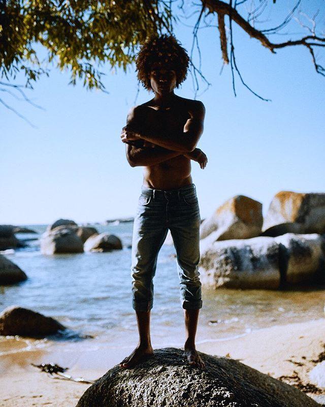 On the rock @straussfoto.de #CapeTown #SouthAfrica #GraceModels #denim #CH