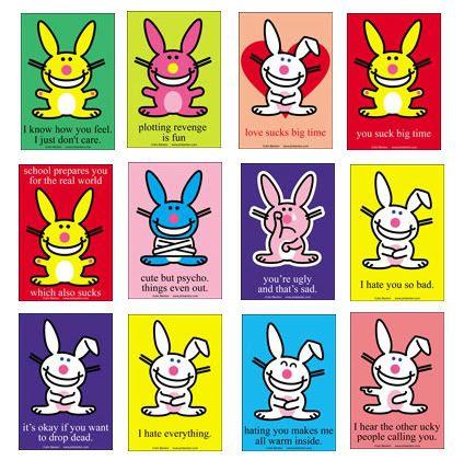 Happy Bunny Photo By Nmmanm Photobucket Happy Bunny Quotes Bunny Quotes Happy Birthday Funny