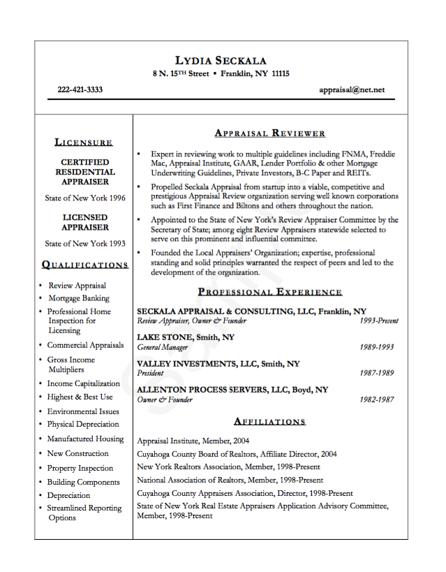 example appraisal reviewer resume http resumesdesign com example