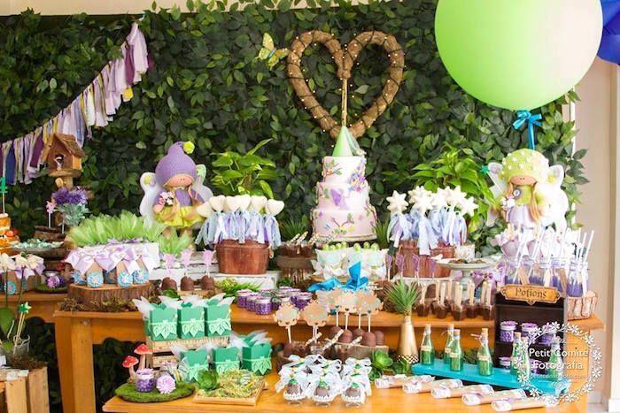 Sweet Fairy Garden Birthday Party Girl Party Ideas Pinterest