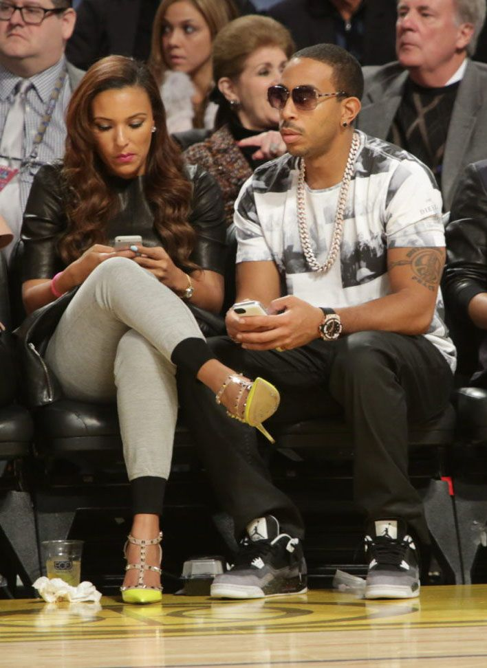7ecadb812619fa Ludacris wearing Air Jordan 4 Retro Fear