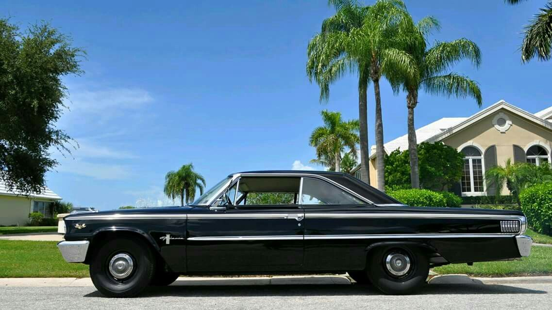 63 1 2 Ford Galaxie 500 R Code 427 4 Speed With Images Ford