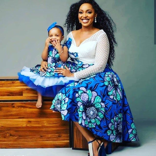 Dazzling Mother and Daughter African Ankara Styles for the weekend [Updated] #africanfashionankara