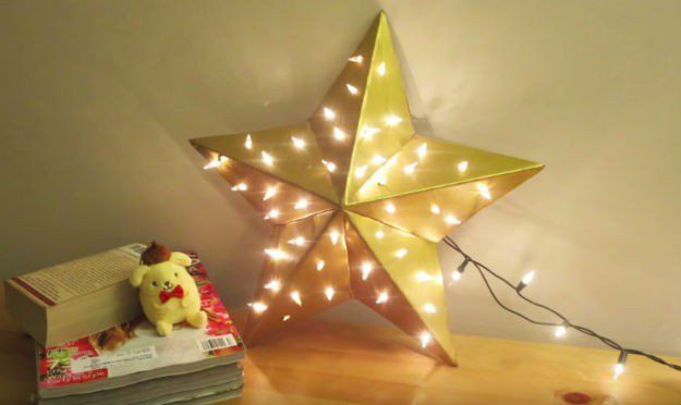 Star Lamp Tutorial Diy Lamp Star Lamp Star Diy