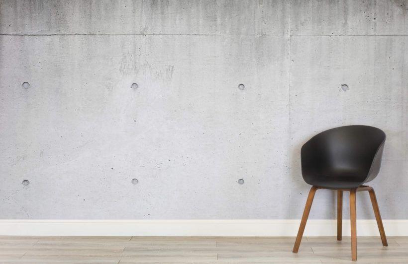Modern Concrete Block Wallpaper Mural Murals Wallpaper Concrete Blocks Concrete Wallpaper Mural Wallpaper
