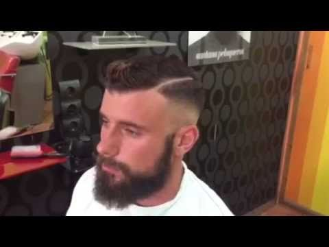 Haircut Hipster Style Tutorial Santana Peluqueros - YouTube - peinados hipster