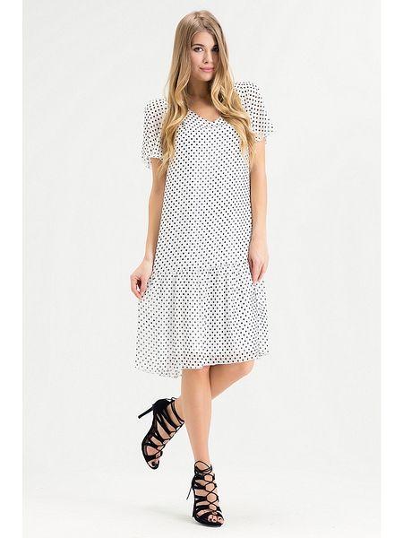 Платье Xarizmas. Цвет белый, черный.
