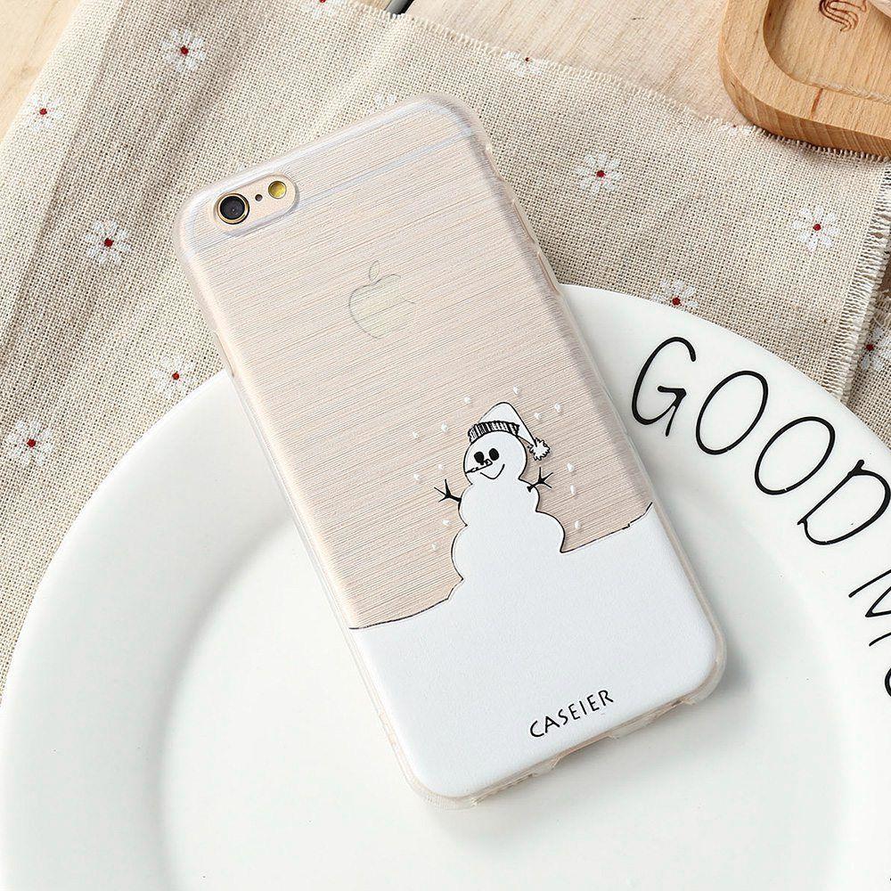 Cool Snowman Case For iPhone 7 /6 6s Plus /5 SE / Samsung S6 /S7 ...