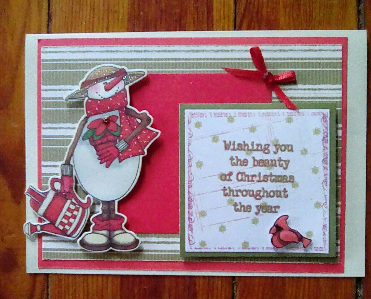 Whimsical Christmas card   Debbie\'s creations   Pinterest   Whimsical