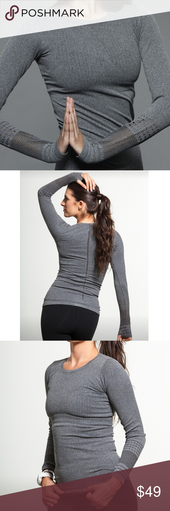 North Star Seamless Long Sleeve by ALO YOGA - TOPS & LONG