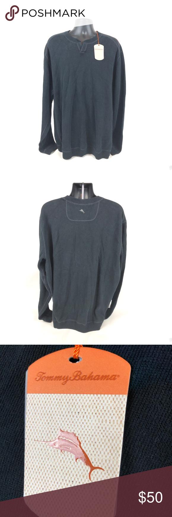 Brand New Men S Tommy Bahama Reversible Sweatshirt Pullover Sweatshirt Men Tommy Hilfiger Sweater Sweatshirts [ 1740 x 580 Pixel ]