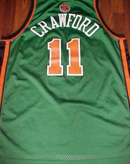 sale retailer 687a6 6b89c Reebok NBA N.Y. Knicks Jamal Crawford 11 Green St. Patrick ...
