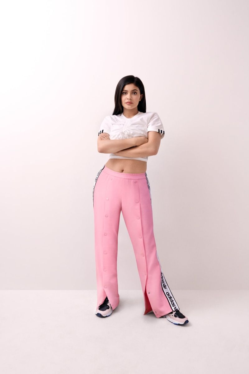 Kylie Jenner Brings Back a 90's Classic with Adidas 'Falcon