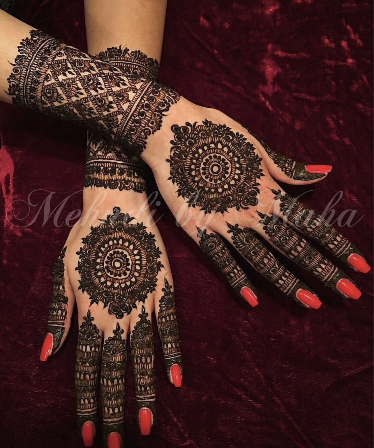 Mandala bridal Mehndi design | Engagement mehndi designs, Mehndi designs,  Wedding mehndi designs
