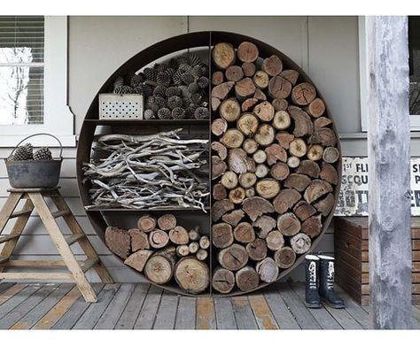 pin von werkstaat auf shelves | pinterest | brennholz lagern ... - Brennholz Lagern Ideen Wohnzimmer Garten