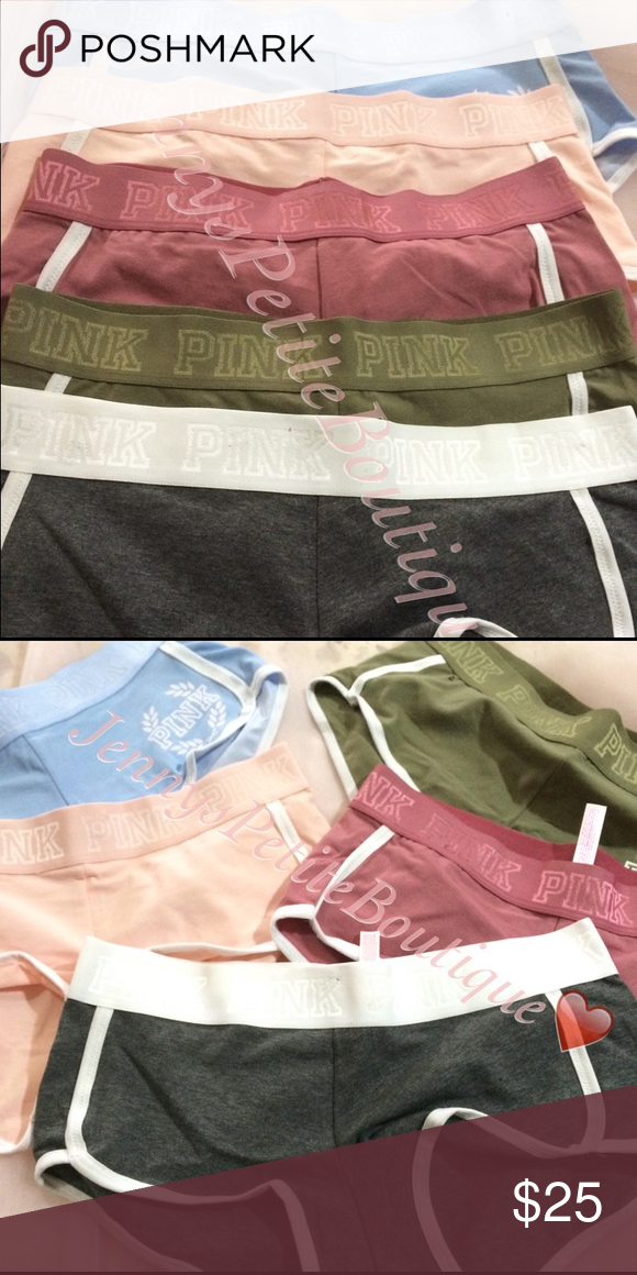 ec9793c5c6a0 NWT Pink Victoria Secret Boyshorts(read descript Restocking Popular colors pink  victoria secrets boy shorts that are making the internet go crazy!