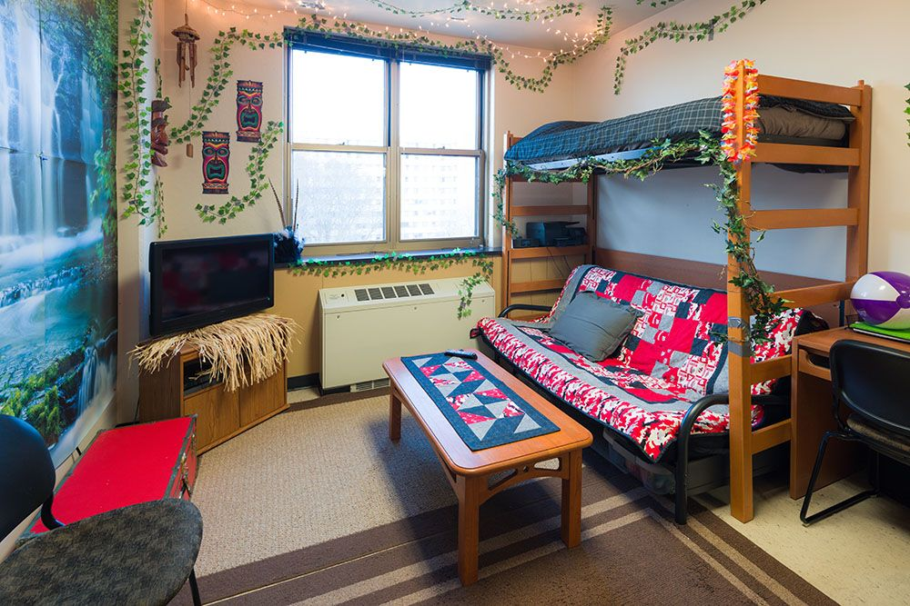Ogg Hall, UW Madison Housing   Best Room Contest WINNER 2017 #UWHousing # Part 62