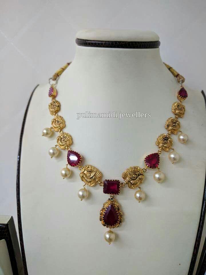 Pin by Lohitha KasiReddy on jewellery Indian | Pinterest | Short ...