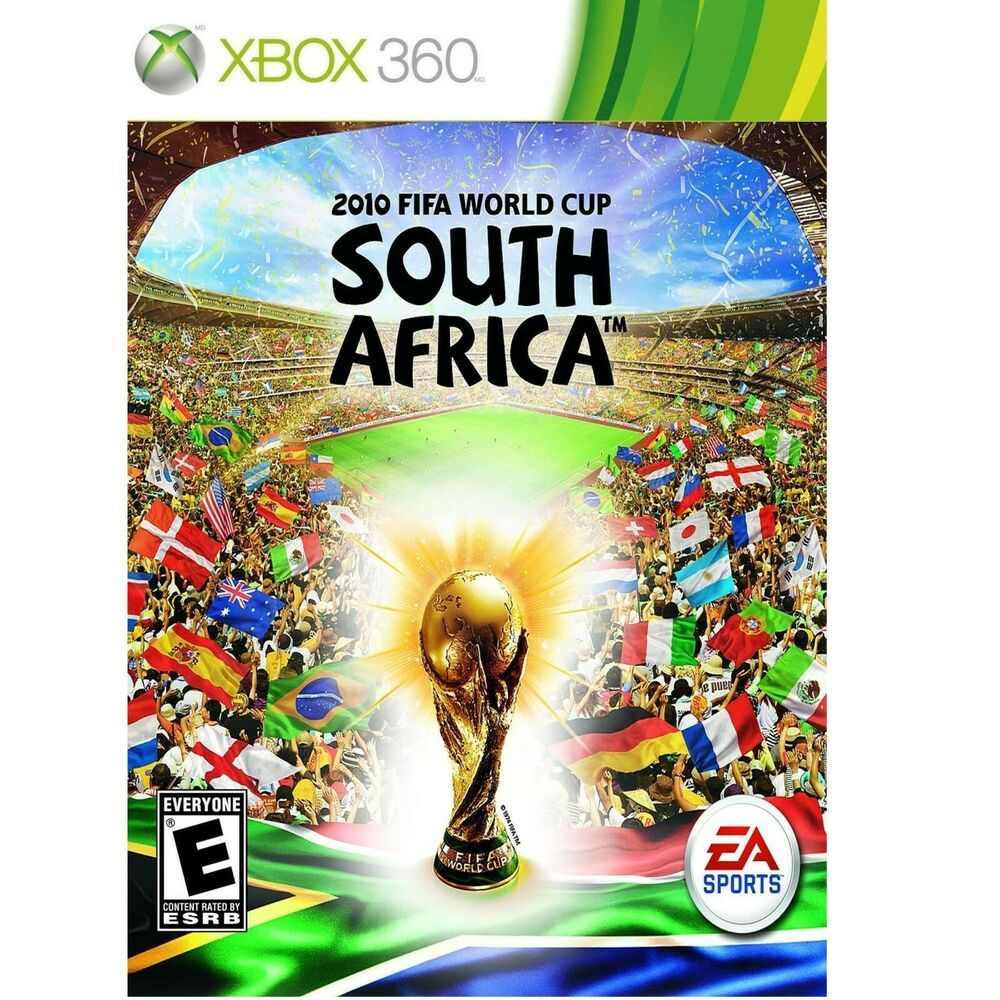 2010 FIFA World Cup South Africa Xbox 360 Soccer Game EA