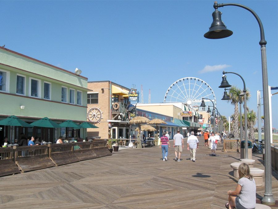 Myrtle Beach Boardwalk Things To Do Holiday Pavilion