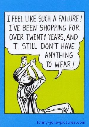 Funny Woman Clothes Shopping Failure Cartoon Funny Quotes Quotes Funny Jokes
