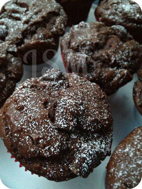 Life's Simple Measures: Deep Dark Chocolate Chunk Muffins