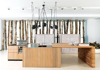 Conoce los nuevos conceptos de cocinas que reinterpretan el diseño funcional doméstico.