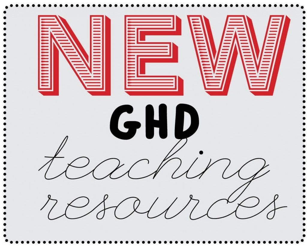 new ghd teaching resources